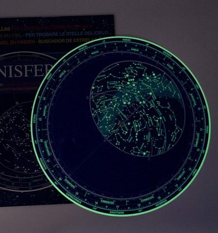 Planisferio Luminiscente Gigante 28 Cm