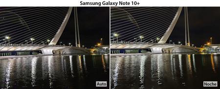 Samsung Galaxy Note 10+ agua