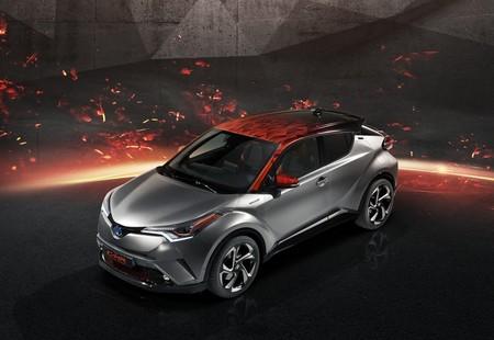 Toyota hace una reinterpretación volcánica y más potente con el C-HR Hy-Power concept