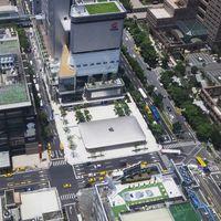 La segunda Apple Store de Taiwán abrirá en breve sus puertas, así de llamativa es desde arriba