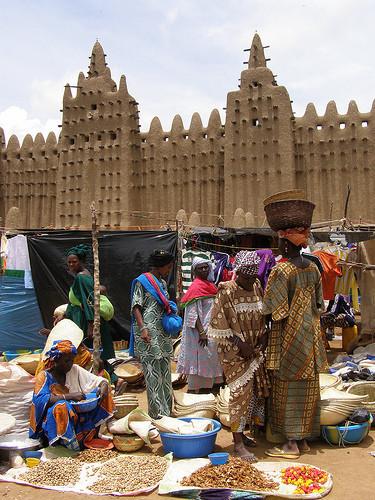 Mercado y mezquita de Djenné. Tus fotos de viaje
