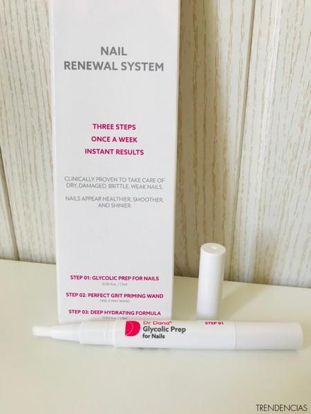 review dr dana sistema renovador de uñas