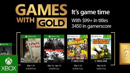 Evolve y Borderlands 2 en los Games with Gold de marzo