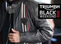 Triumph black weekend el 6 y 7 de marzo