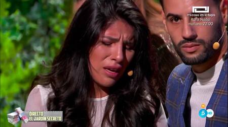 'La Casa Fuerte': Isa Pantoja sufre un ataque de ansiedad en directo tras conocer, por Jorge Javier Vázquez, las declaraciones de Kiko Rivera sobre su madre