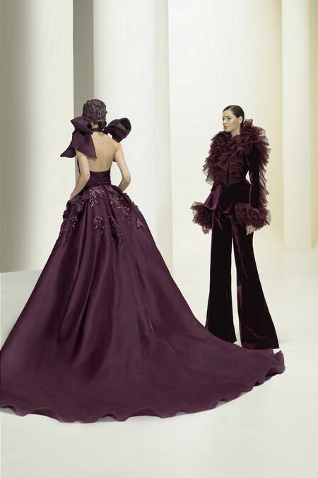 Elie Saab presenta una colección de alta Costura Otoño-Invierno 2021/2022 con derroche extra de elegancia y delicadeza