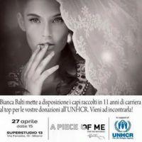 Bianca Balti subasta su guardarropa para ayudar a los refugiados sirios