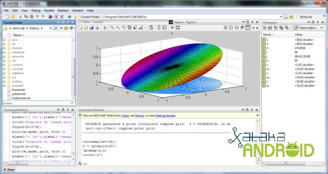 Matlab en Android