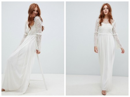 Vestido Novia Hippie Low Cost