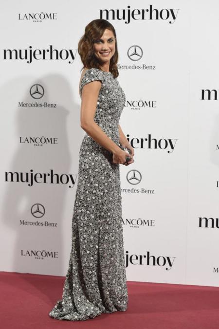 Alicia Rueda en los Premios Mujer Hoy 2014