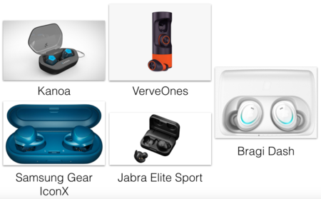 competidores airpods