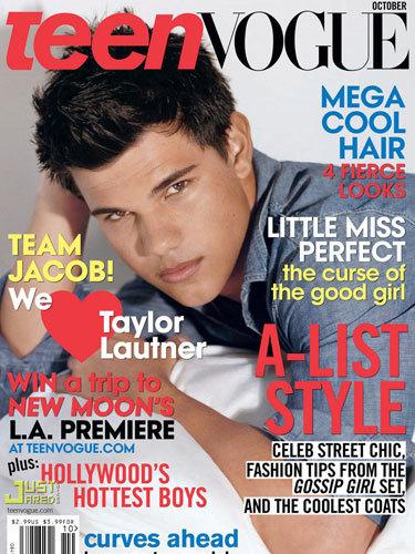 Taylor Lautner tremendo para Teen Vogue