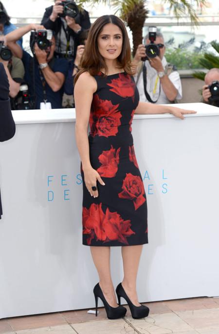 Salma Hayek Cannes vestido