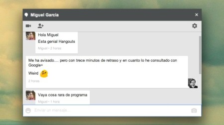 google hangouts chats