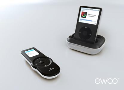 ZicPlay Ewoo, dock y mando a distancia para el iPod