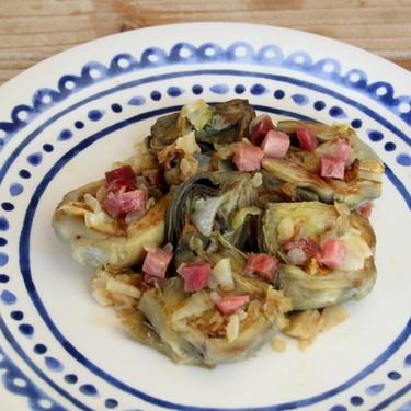 Receta de alcachofas con jamón, un clásico que nunca defrauda (y menos si lo haces con nuestro toque especial)
