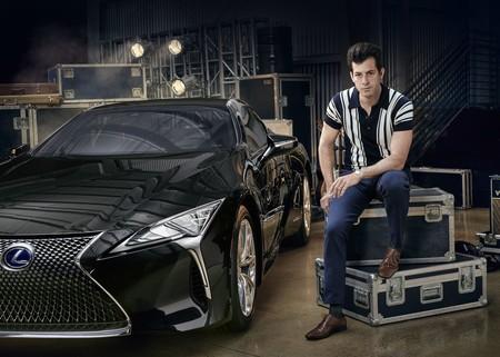 Mark Ronson Le Pone Su Sello Musical Con Estilo Al Nuevo Lc De Lexus