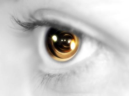 Los ojos en los negocios