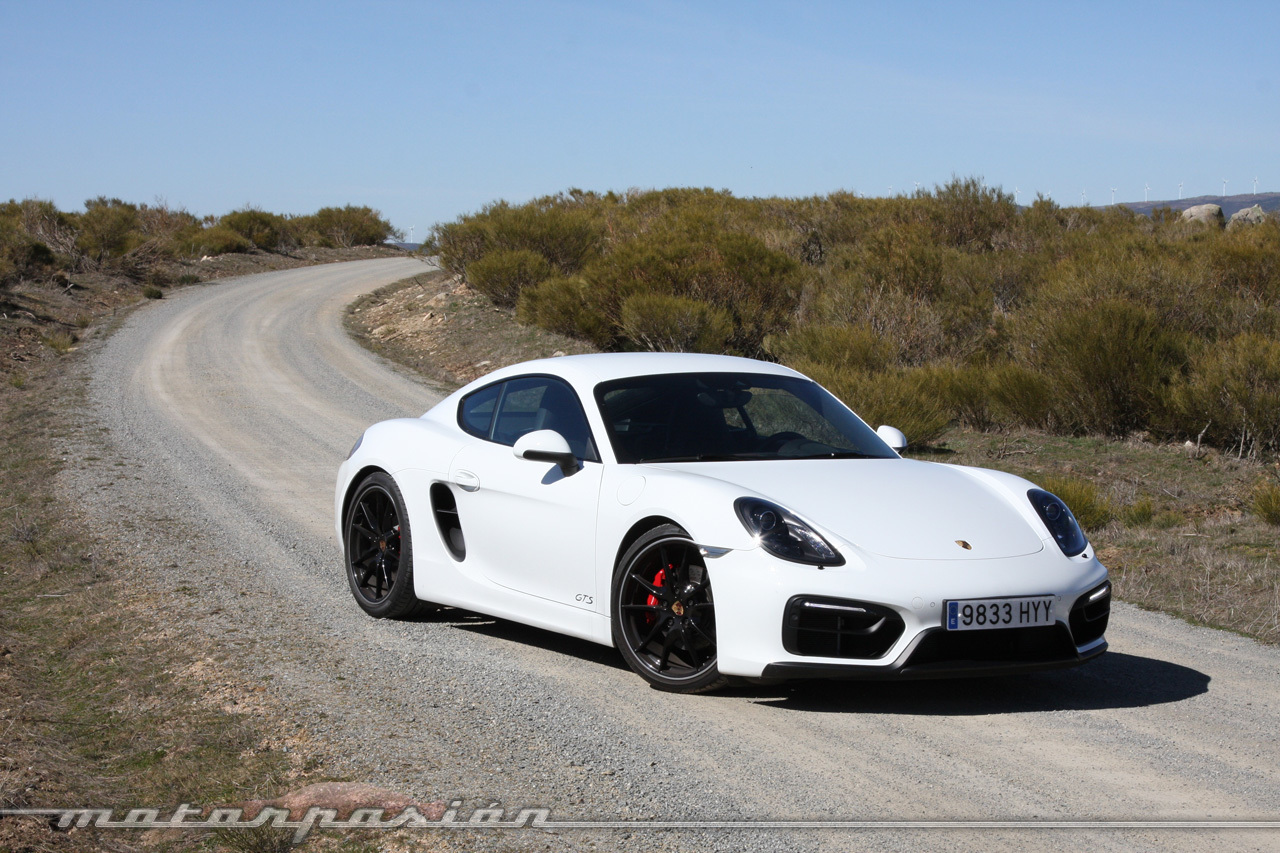 Foto de Porsche Cayman GTS (prueba) (11/34)