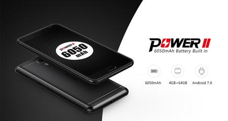 Código de descuento: Ulefone Power 2, con superbatería de 6.050 mAh, por 137 euros