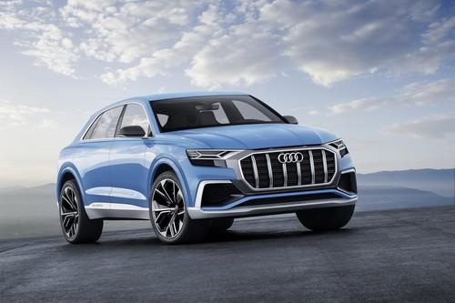El Audi Q8 Concept sólo consigue que el Q7 suene a poco... y eso es mucho