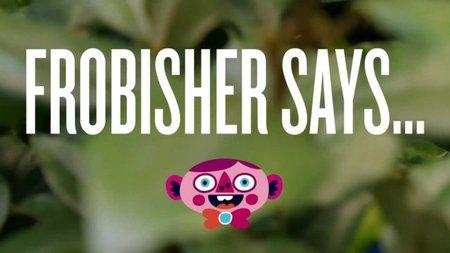 """'Frobisher Says'. Llegan los minijuegos absurdos a PS Vita, y nos encanta. Frobisher dice que veas """"su estúpido videojuego"""""""