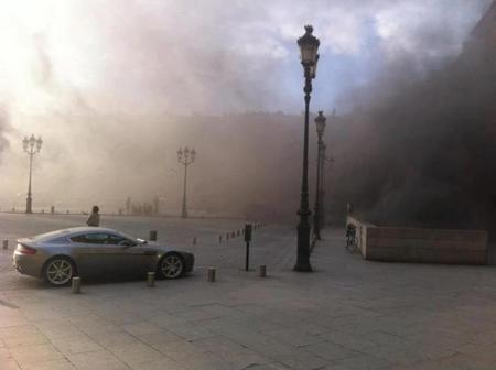 Dolorpasión™: arde en París el Place Vendome, un garaje lleno de supercoches