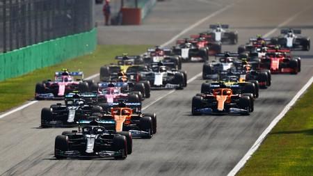Hamilton Monza F1 2020