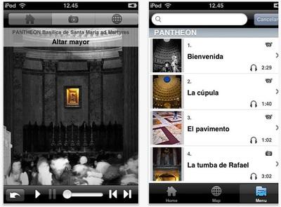 Aplicaciones viajeras: conoce el Panteón romano