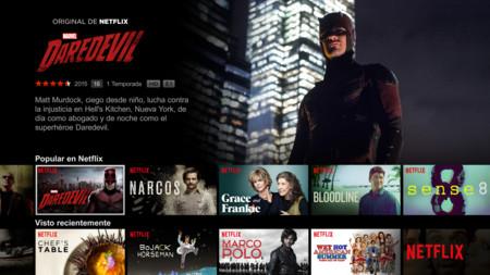 Netflix Experiencia Tv Espana