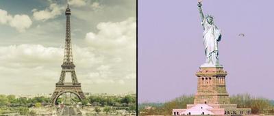 Un time lapse que compara París y Nueva York