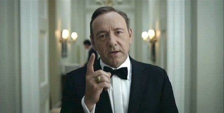 Kevin Spacey parodia 'House of Cards' en 'House of Nerds', la imagen de la semana