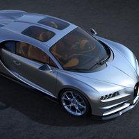 El Bugatti Chiron estrena la opción Sky View: un techo de cristal con sabor retro