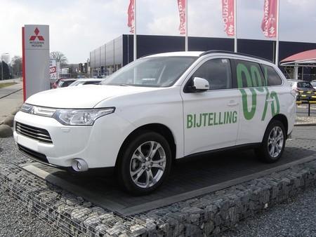 Mitsubishi Outlander PHEV es el coche más vendido en Holanda el último mes