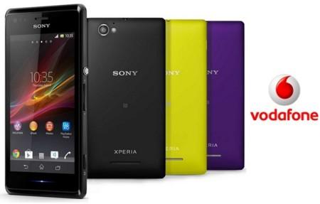 Precios Sony Xperia M con Vodafone