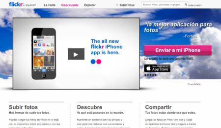 Flickr, ponte las pilas