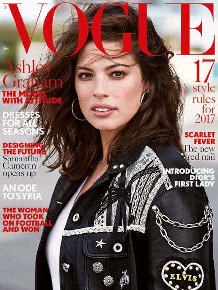 Vogue UK: Ashley Graham
