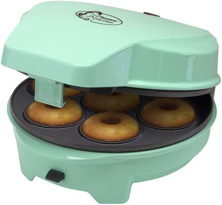 Bestron Cakemaker 3 En 1 Diseno Retro Para Donuts Y Muffins Sweet Dreams Antiadherente 700 W Menta