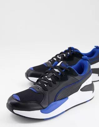 Zapatillas de deporte negras y blancas X-Ray Game de Puma