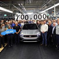 Volkswagen ya ha fabricado 700,000 unidades del Passat en Chattanooga y se prepara para una nueva generación