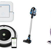 4 ofertas del día en robots de limpieza y escobas aspiradoras en Amazon de marcas como iRobot y Polti