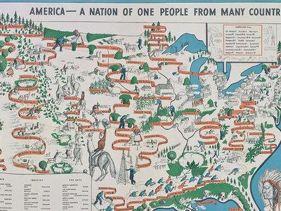 En 1940, todo el mundo en Estados Unidos ya tenía claro que era una nación de inmigrantes