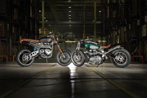 Bienvenidos al Triumph Factory Custom en el EICMA