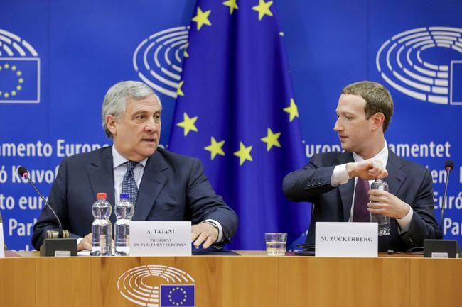 Zuck UE Parlamento