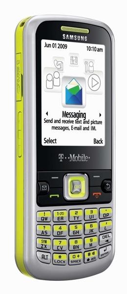 Samsung SGH-t349, en los Estados Unidos con T-Mobile