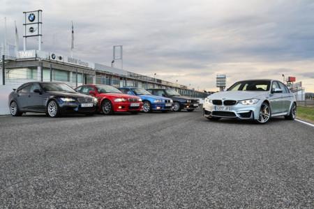 Hemos ido al 30 cumpleaños del BMW M3 a conducir las cinco generaciones de este icono de la deportividad