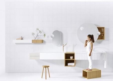 Colección Ingrid de Vika, cuartos de baño que no lo parecen