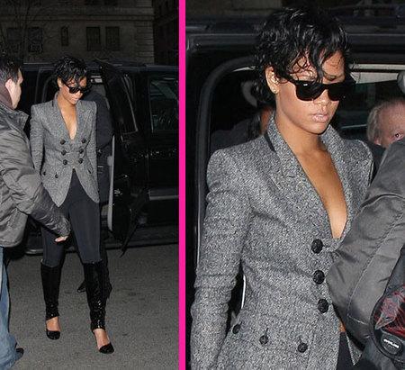 Rihanna vuelve a la calle