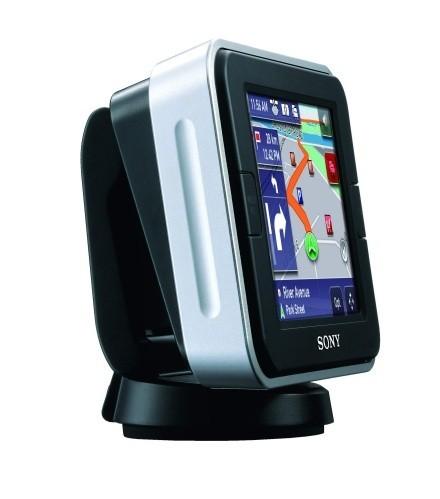 Nuevos navegadores GPS de Sony