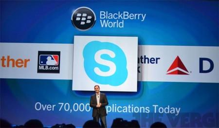 Rumor: Skype para BlackBerry 10 llegará el próximo 15 de abril